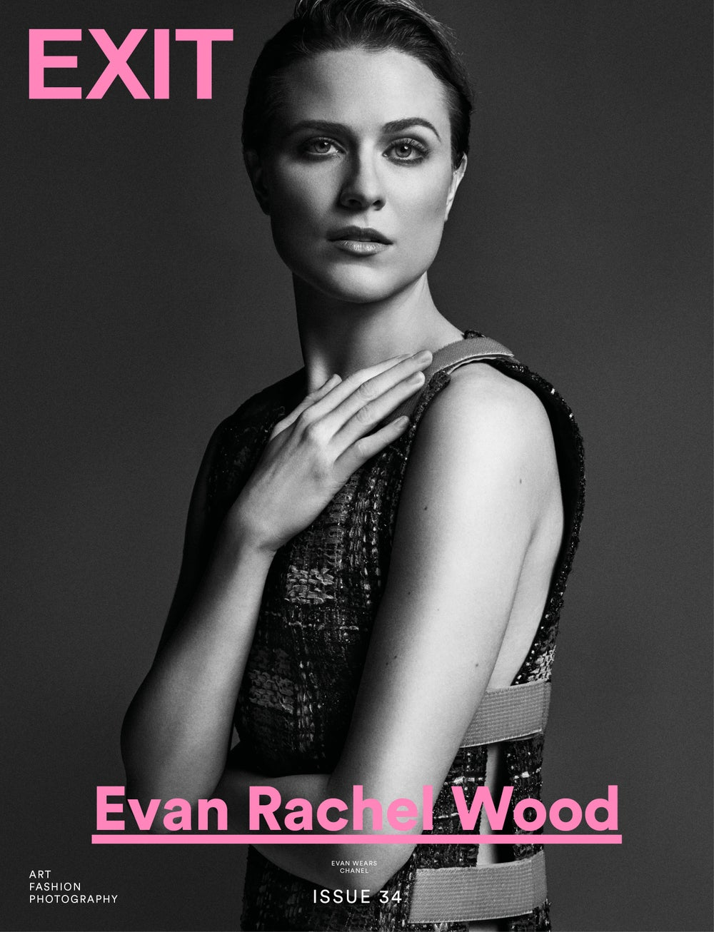 Image of EXIT MAGAZINE ISSUE 34 (EVAN RACHEL WOOD COVER)