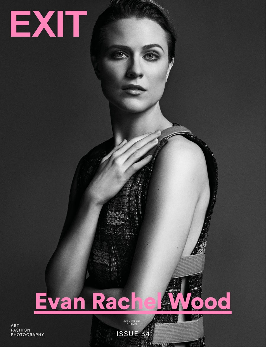 Image of EXIT MAGAZINE ISSUE 34 EVAN RACHEL WOOD SPRING SUMMER 2017