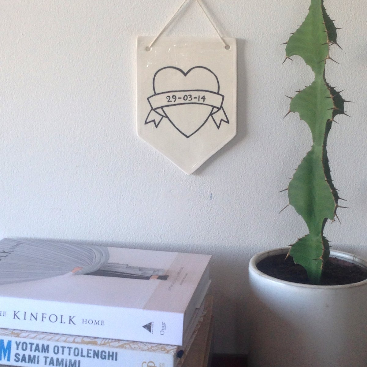 Custom Heart Wall Hanging