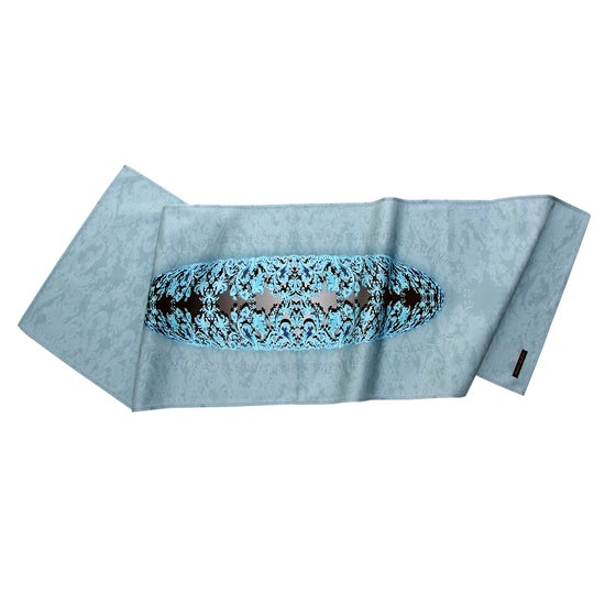 Image of Digitally printed cotton table runner CG Etienne