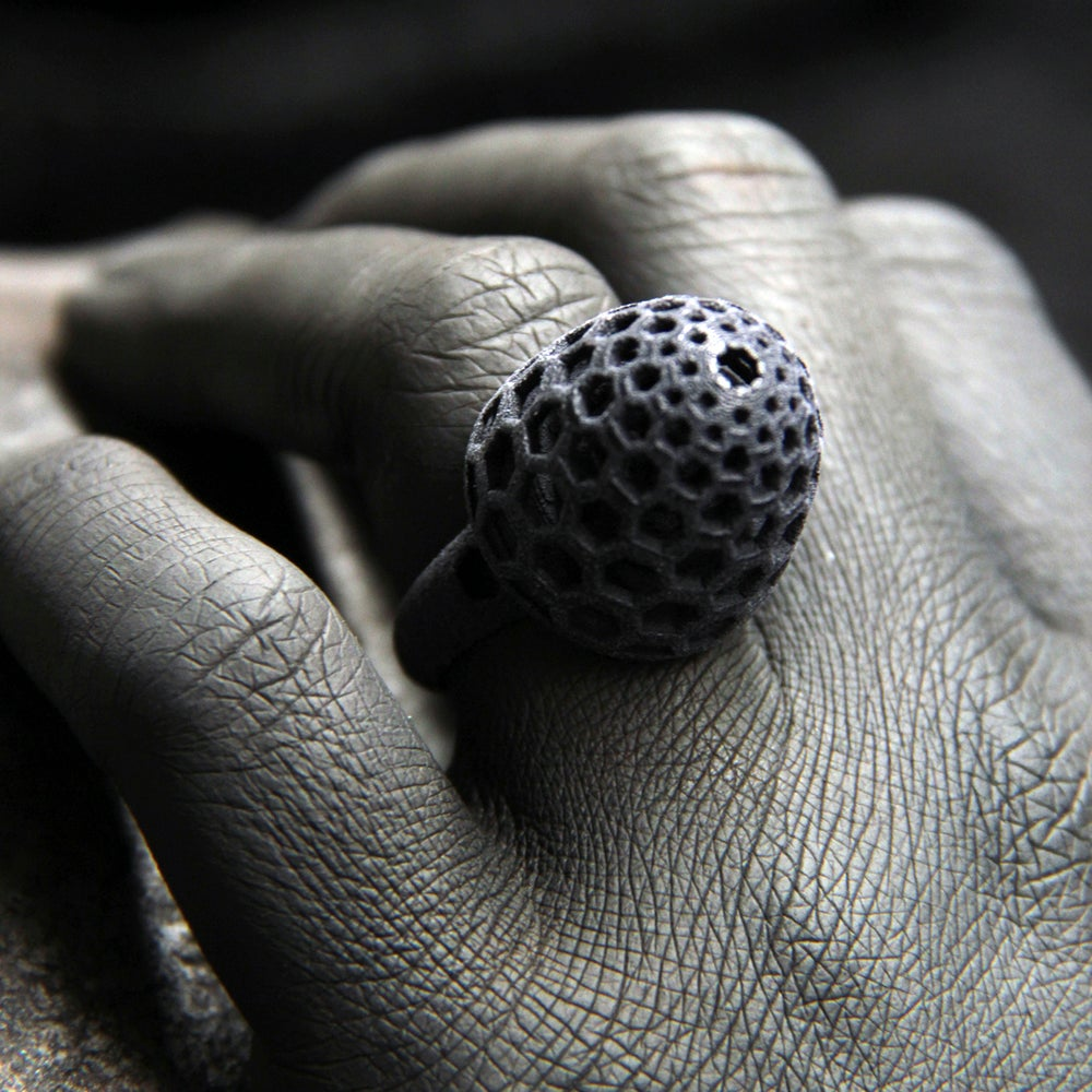 Image of 3D printed ring BEHAVE