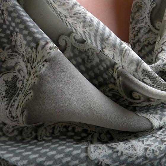 Image of Digitally printed silk scarf Anonymous