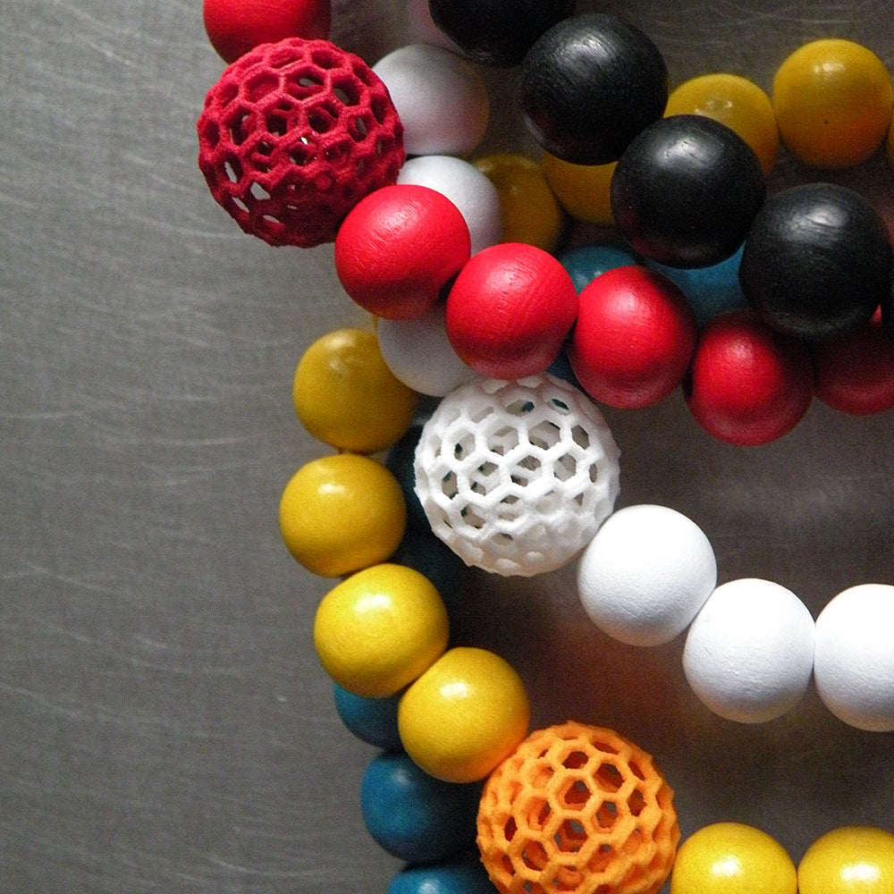 Image of 3D printed bracelet BEHAVE