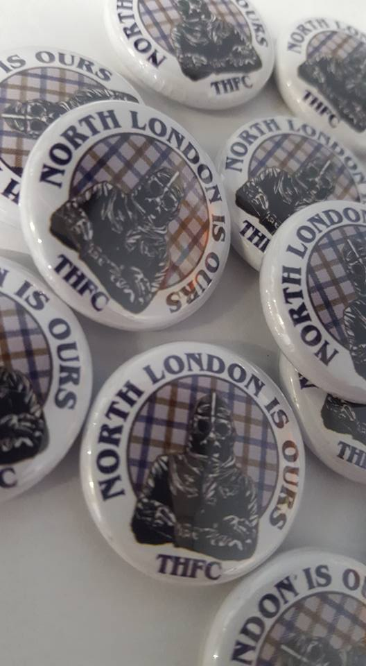 Tottenham Hotspur Spurs North London Is Ours 25mm Brand New Football Badge.
