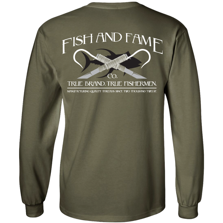 Image of Classic Gaff Long Sleeve (military green)