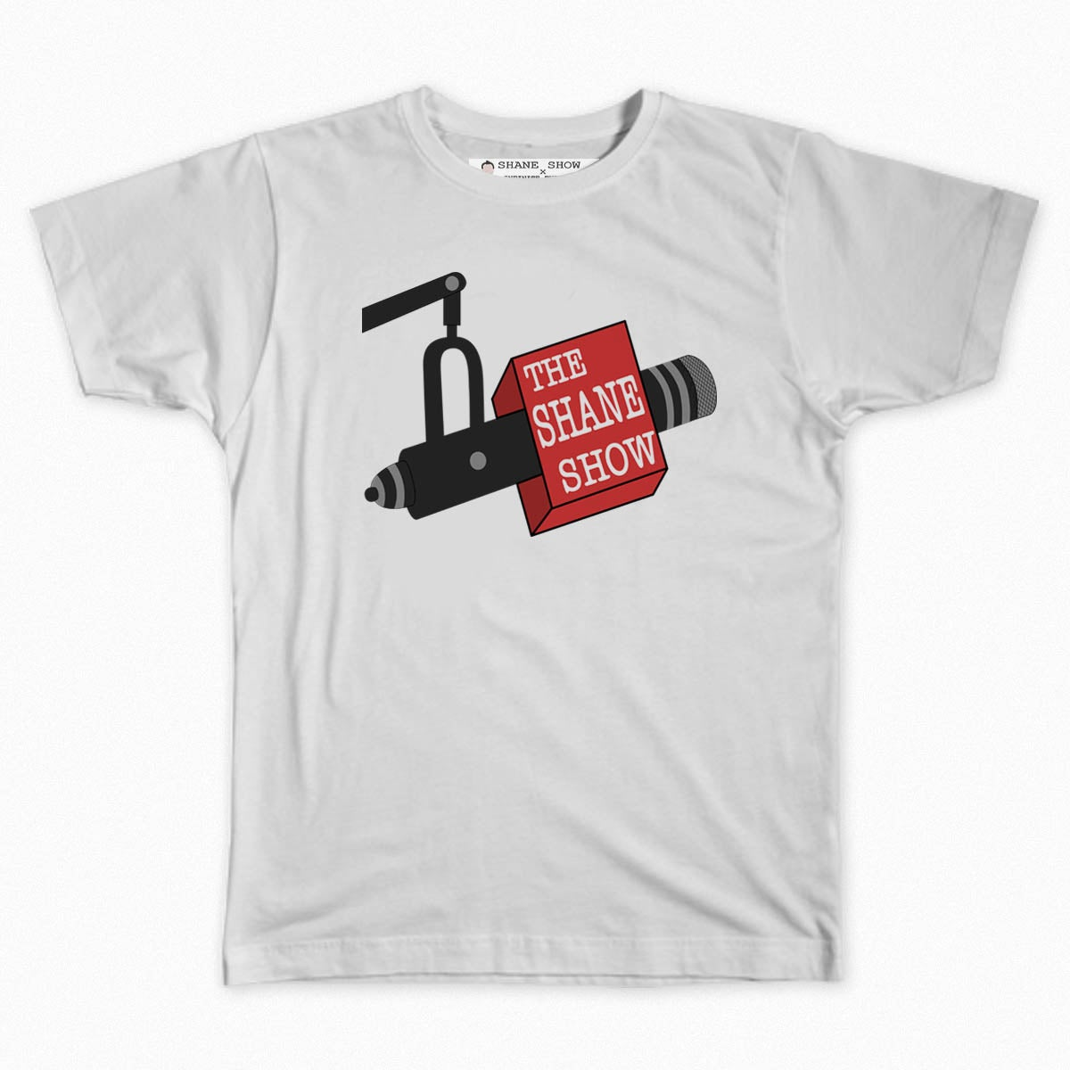 Image of Shane Show Microphone Tee (Black or White)