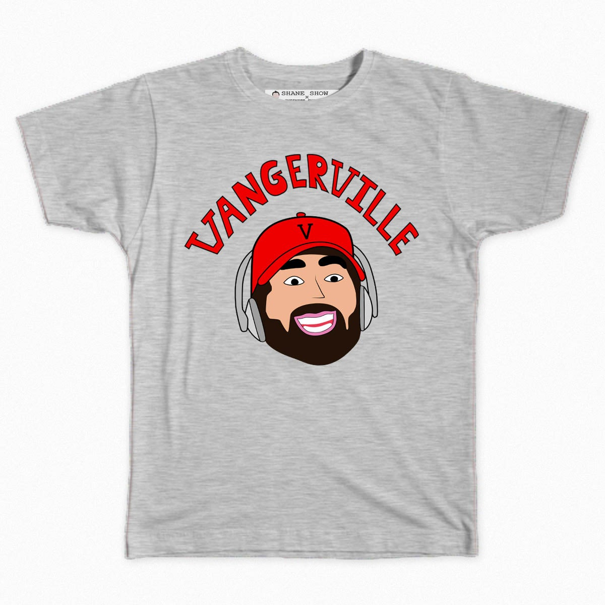 Image of Vangerville Tee (Black or Grey)