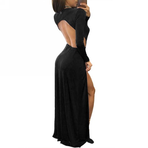 Image of Fiona Gown Black