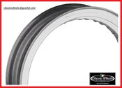 "Image of Harley Davidson Akront Morad shouldered alloy rim 16""x3.00-40 hole for 36' & UP or Sportster hub."