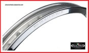 Image of  Harley Davidson Akront Morad shouldered alloy rim 21x1.60-40 hole for 36' & UP or Sportster hub..