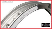 Image of Harley Davidson Akront Morad shouldered alloy rim 19x2.15-40 hole for 36' & UP or Sportster hub..