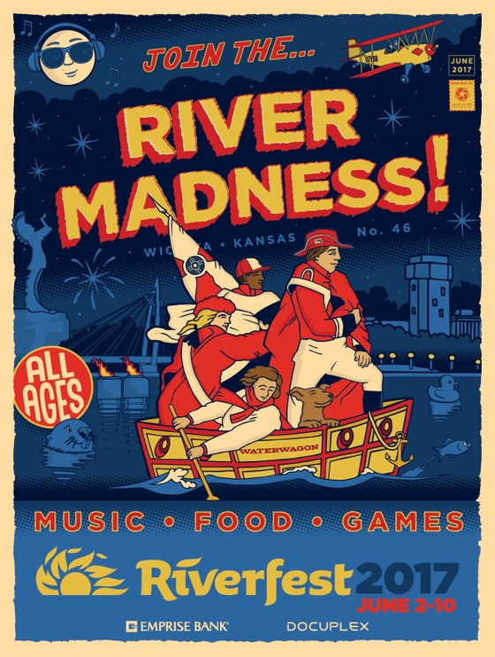 Image of Riverfest 2017 Poster