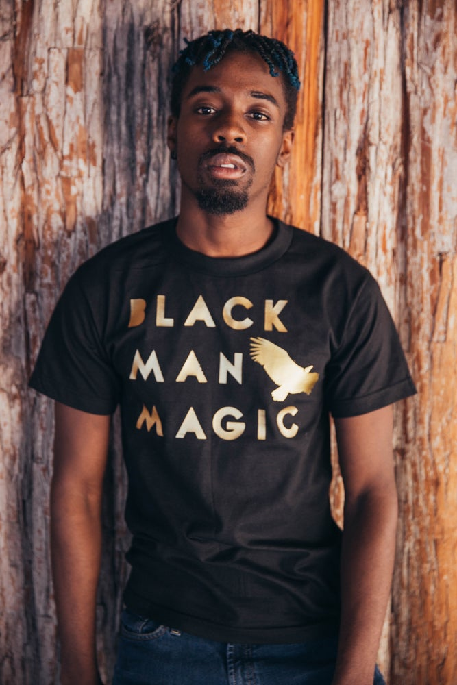 Image of Black Man Magic