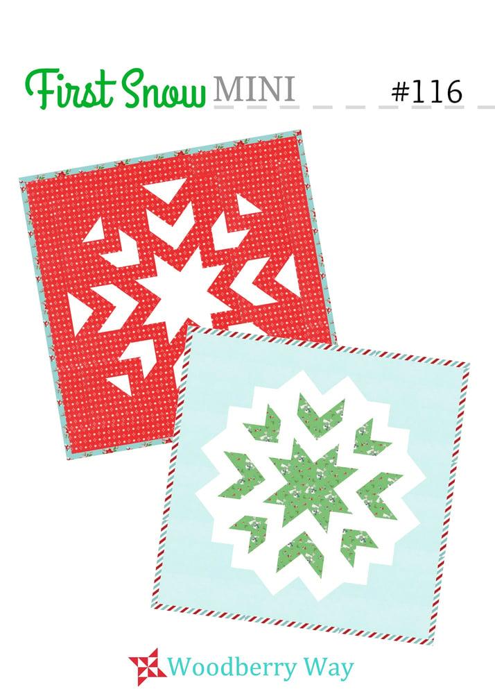 Image of First Snow MINI PDF Pattern
