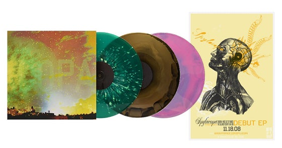 Image of Spylacopa S/T Deluxe Colored, 12-Inch vinyl reissue + POSTER