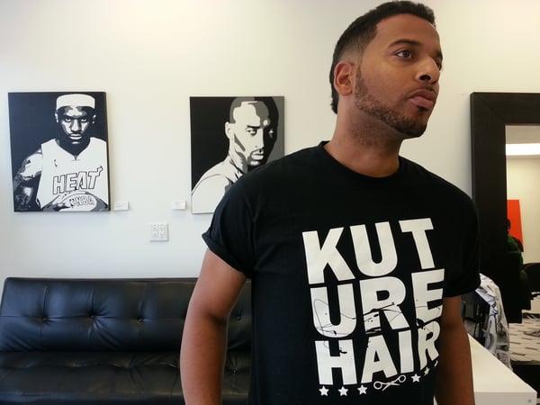 Image of KUT-URE-Hair Black  Classic Tshirt