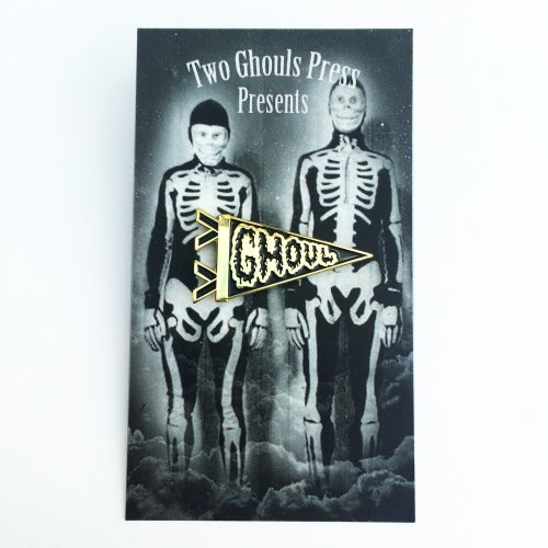 Image of Ghoul Pennant - Lapel Pin