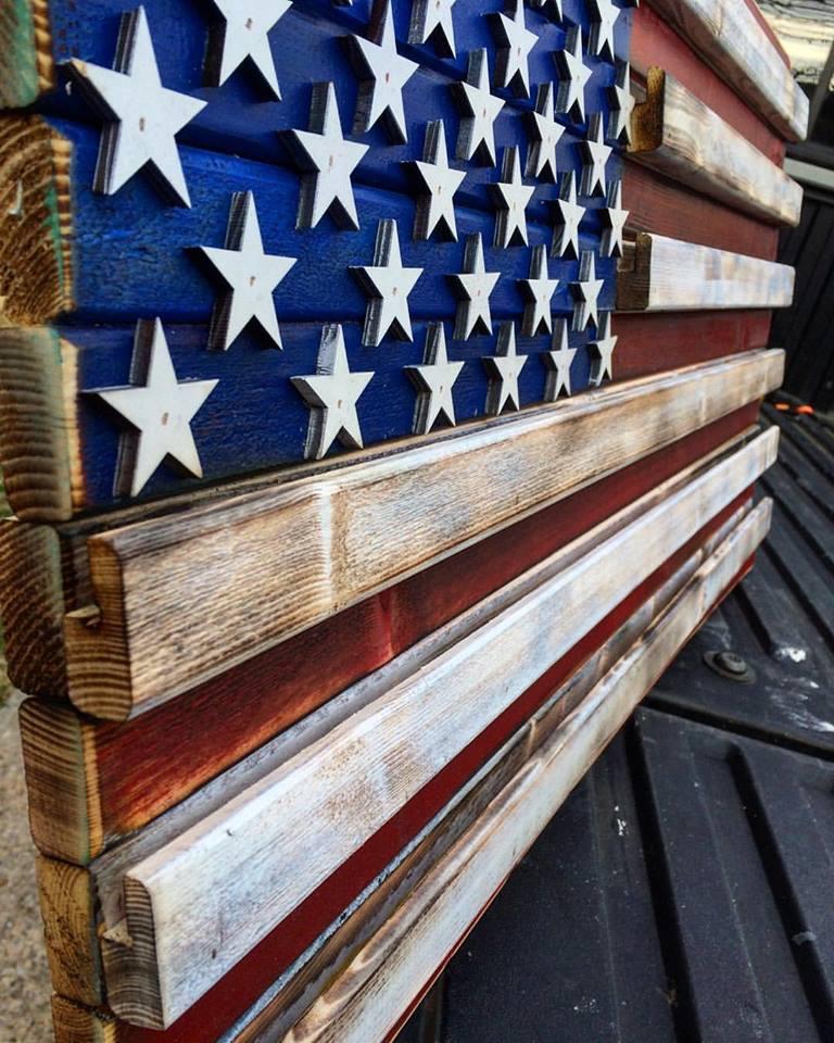 "Image of Medium ""Challenge Coin"" American Flag"