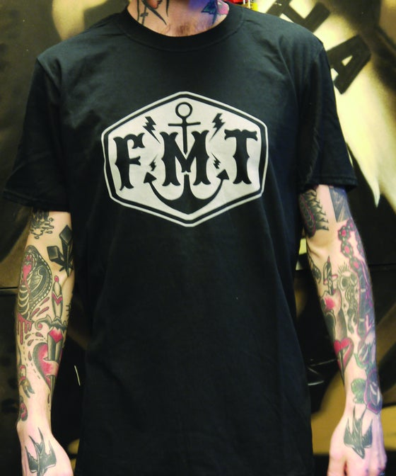 Image of FMT Logo T-Shirt Black/Silver