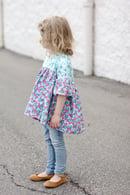 Image 5 of the EMMA top/tunic/dress GIRL'S PDF pattern