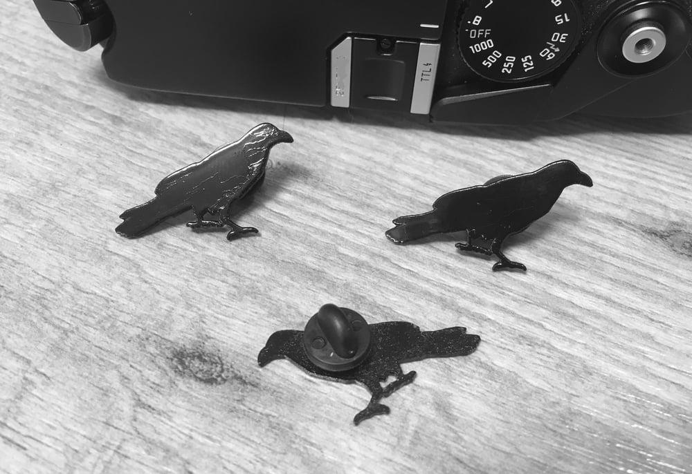Image of Raven Lapel Pin