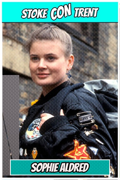 Image of Photo Opportunity with Sophie Aldred at Stoke CON Trent #6
