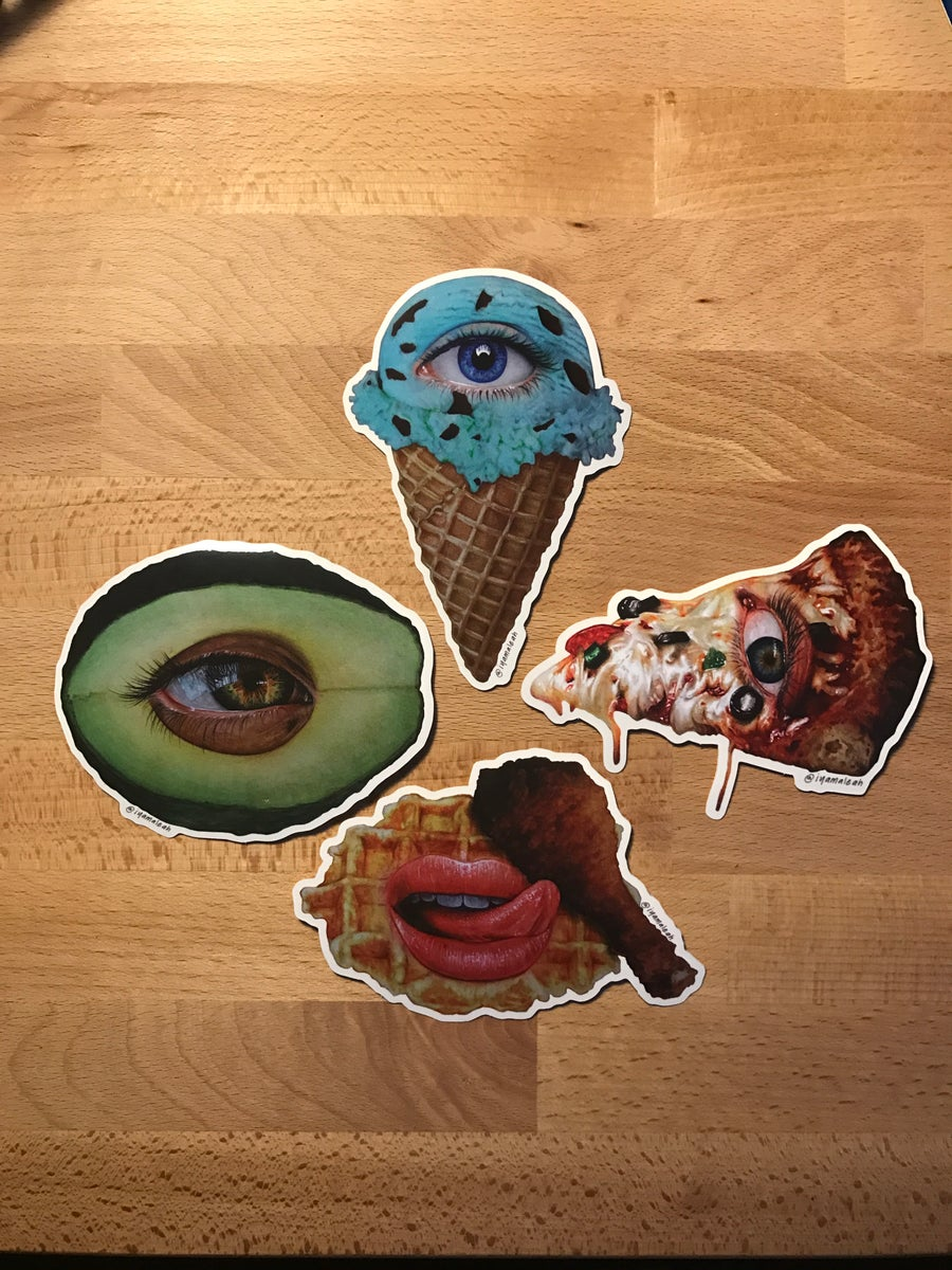 Image of Food Sticker Pack