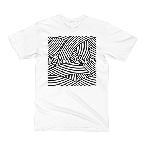 Image of Cosmic Quest Squiggle Shirt (White)
