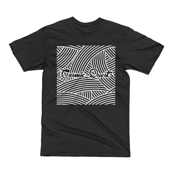 Image of Cosmic Quest Squiggle Shirt (Black)