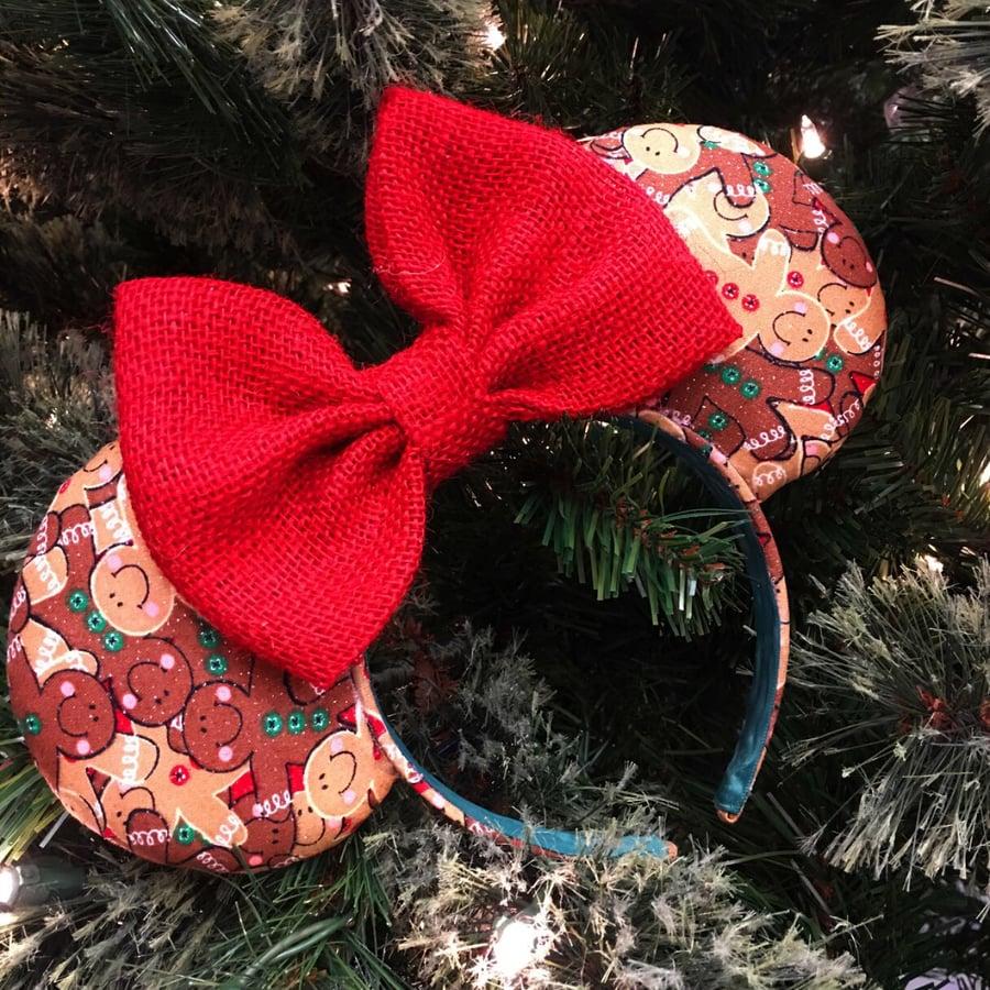 Image of Gingerbread Man Ears