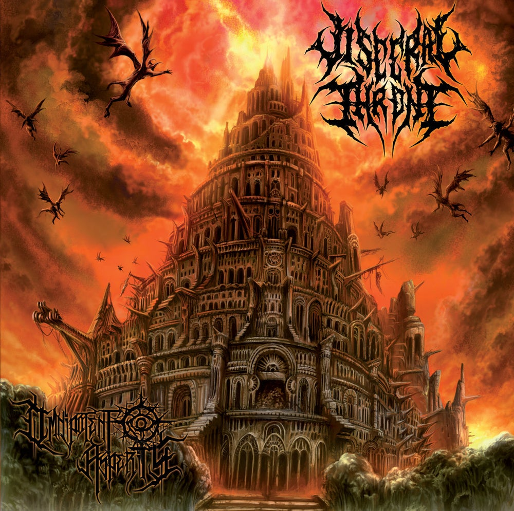 Image of VISCERAL THRONE - Omnipotent Asperity CD