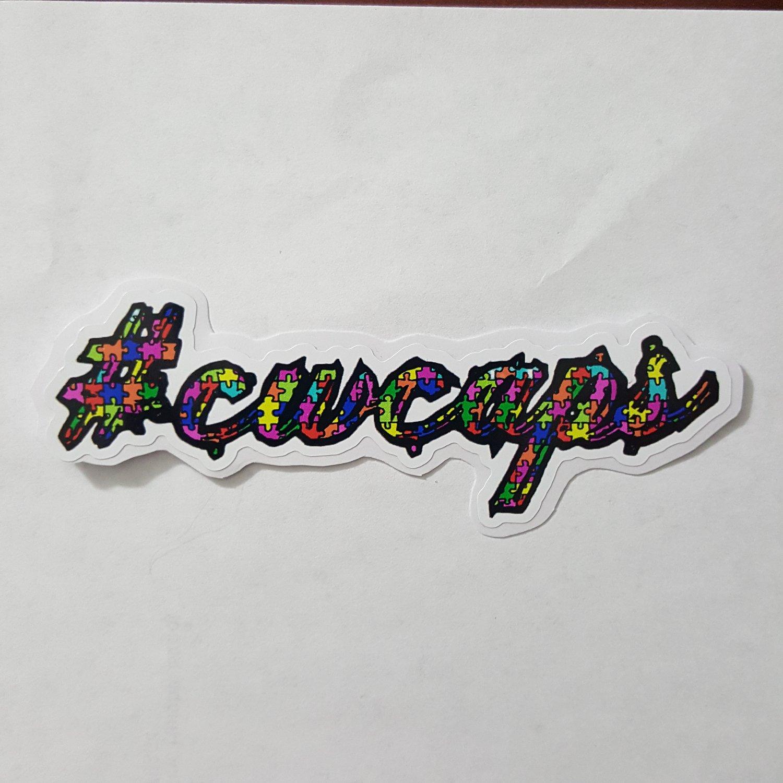 Image of Autism Awareness Sticker