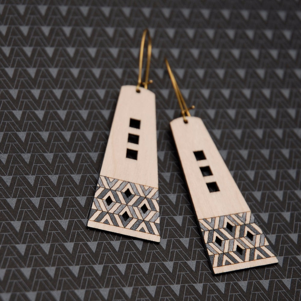 "Image of ""KENZIE"" EARRINGS"