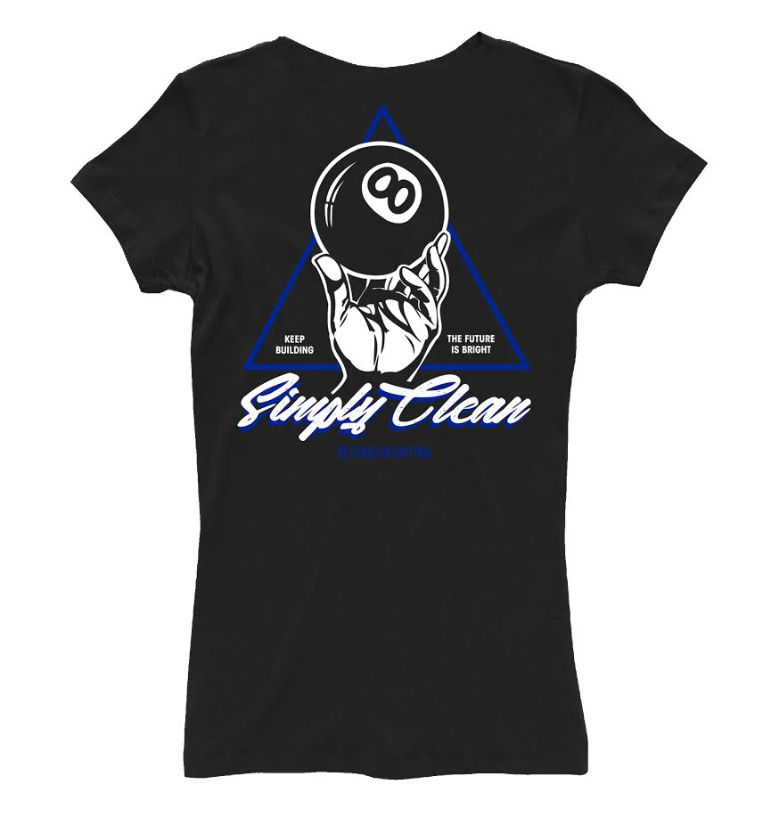 "Image of Ladies ""Simply Clean 8"" V Neck"