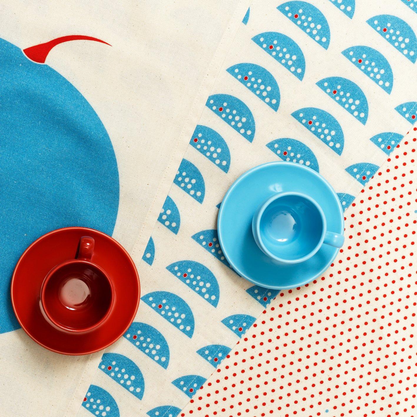 Image of POP OUT WATERMELON Tea towels