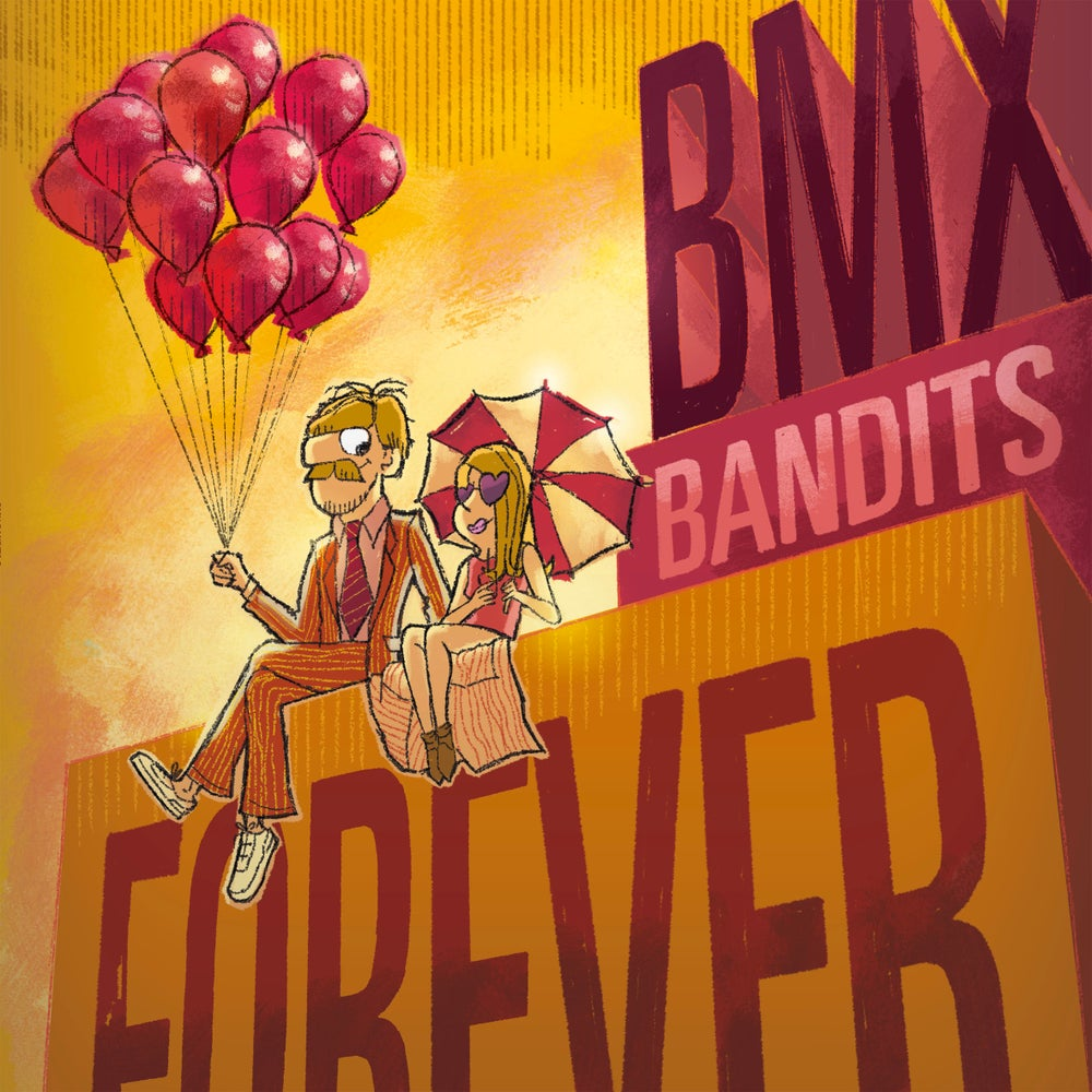 "Image of BMX BANDITS - BMX Bandits Forever (Limited Edition Orange 12"" vinyl LP / CD)"