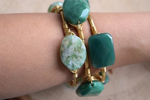 Image of Tree Agate Bangle