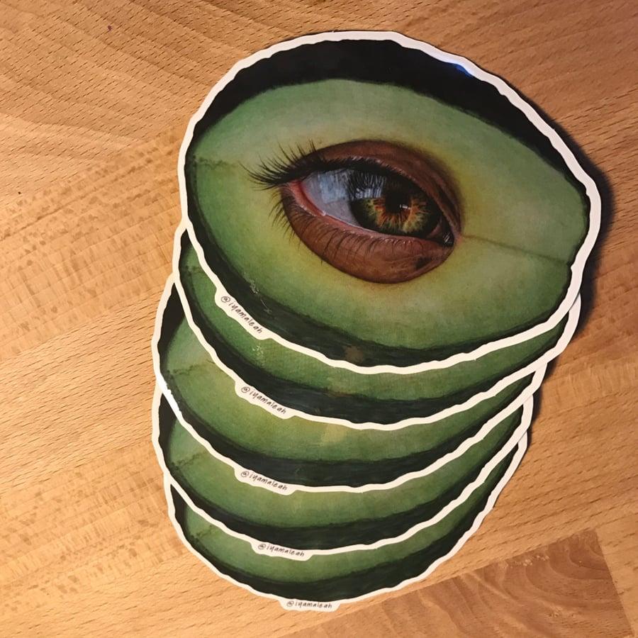 Image of Eye'vocado Sticker