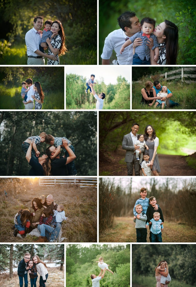 Image of Sunset Lifestyle Outdoor Family Session