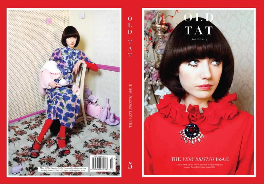 Image of Issue 05 The Very British Issue COVER 2 OPTION