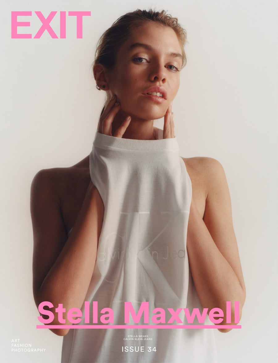 Image of EXIT MAGAZINE ISSUE 34 (STELLA MAXWELL COVER) 4 Copies Remaining