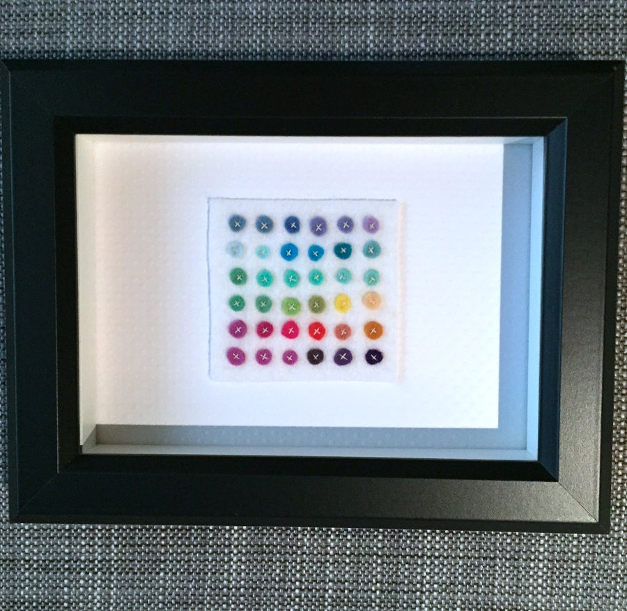 Image of tiny dot grid no. 13