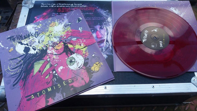 "Image of Atomised 12"" purple vinyl"