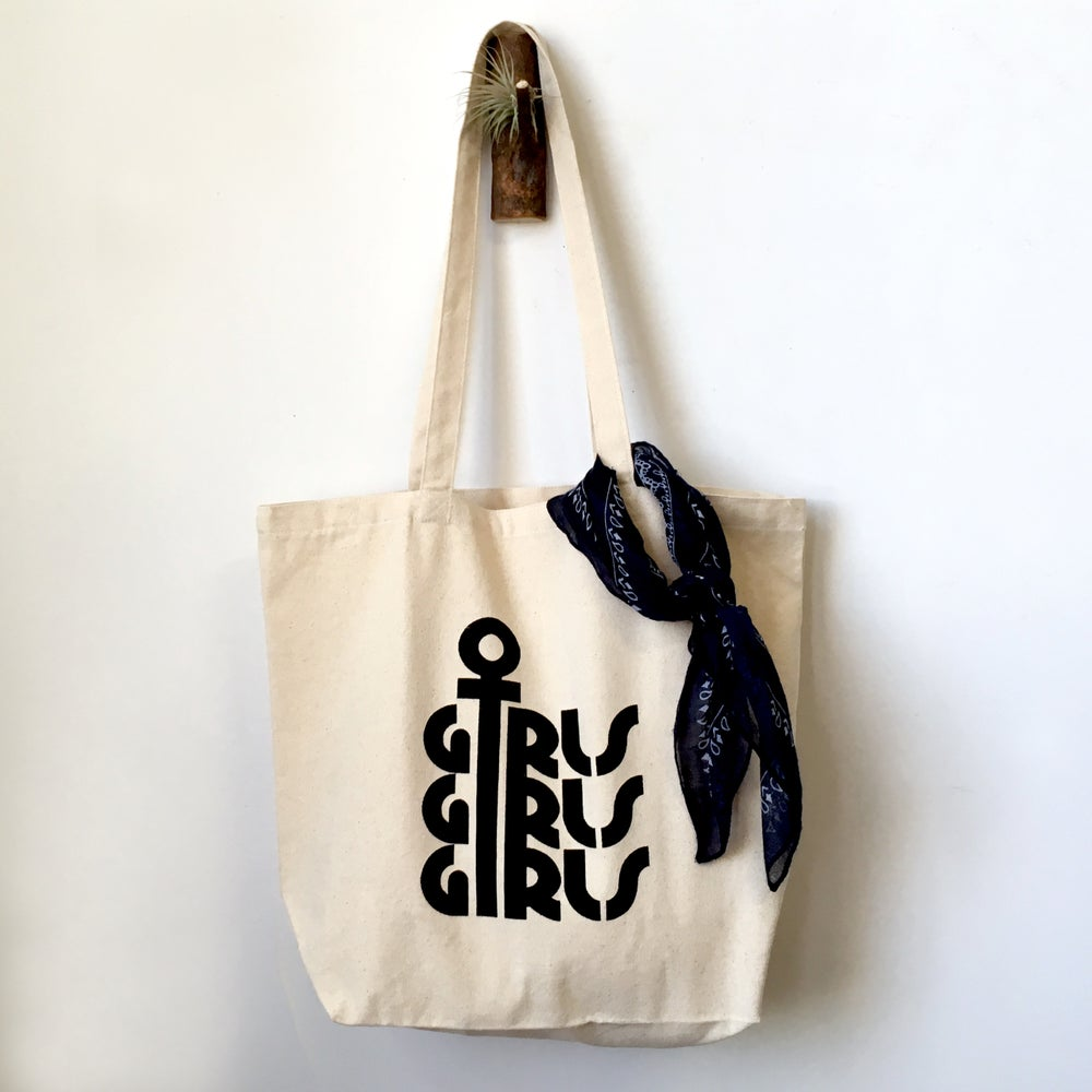 Image of Girls Girls Girls Tote