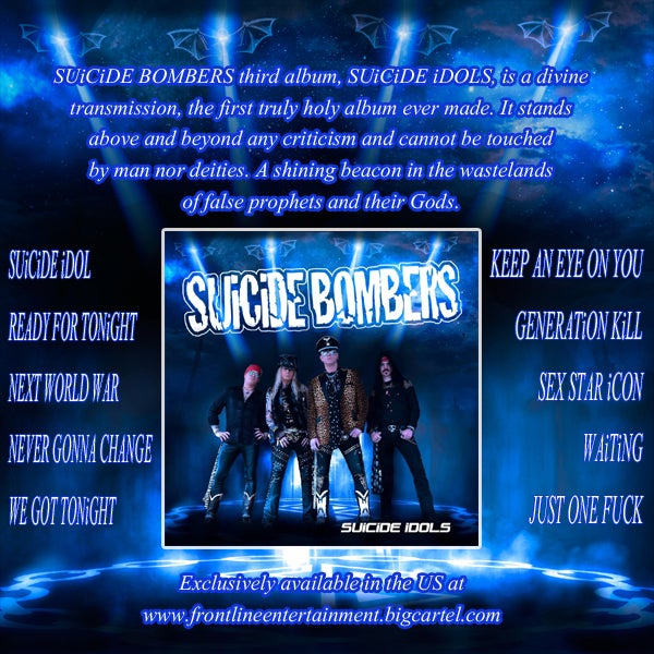 Image of SUiCiDE BOMBERS-SUiCiDE iDOLS CD