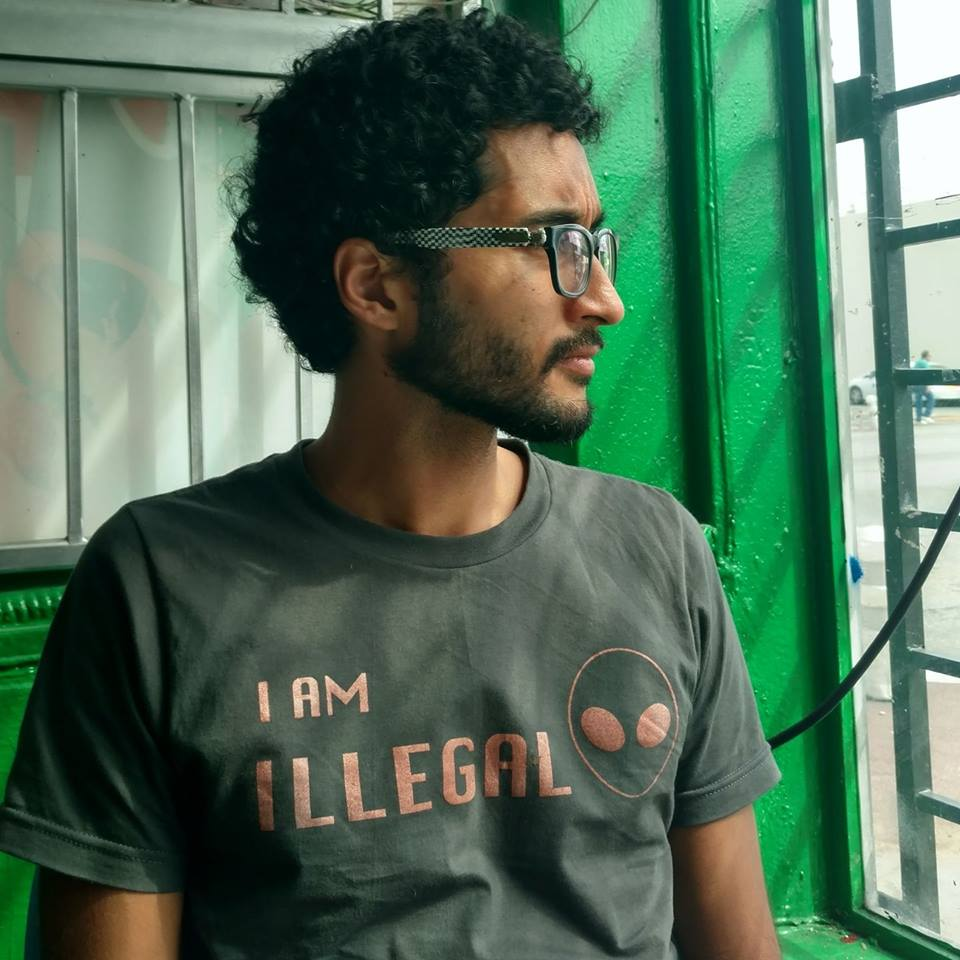 "Image of ""I am Illegal"" Alien Tee"