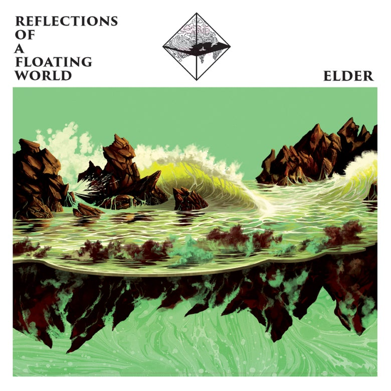 "Image of ELDER ""Reflections Of A Floating World"" 2LP with download card"