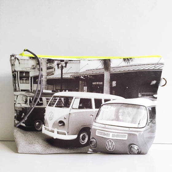 Image of Black & White Combi Pouch XL
