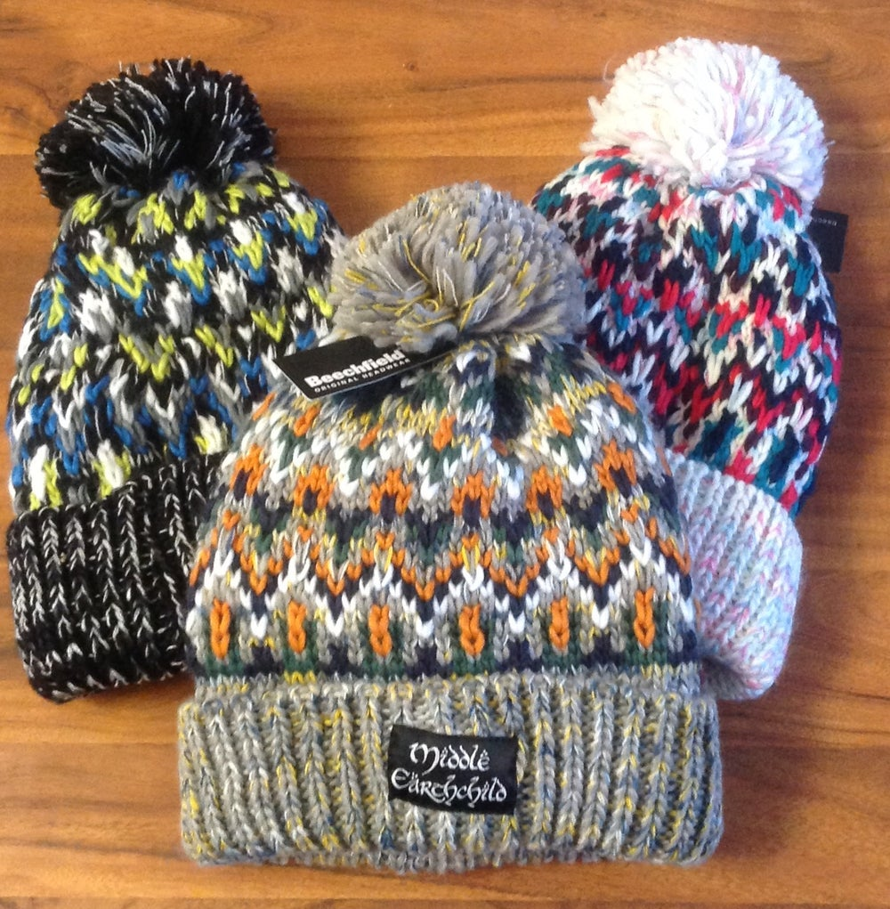 Image of Middle Earthchild Ranger Bobble Hats (8 left in stock) (CLEARANCE SALE)