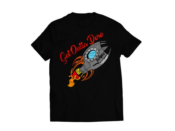 Image of Get Outta Dere Shirt [Black]